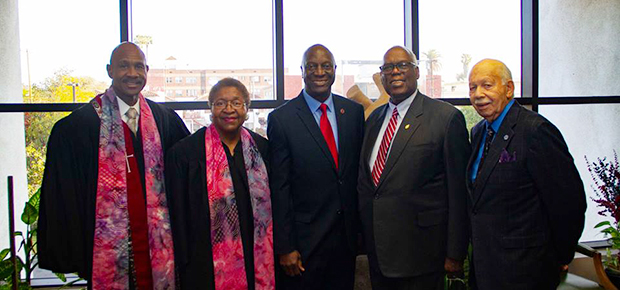 Holman UMC is the only predominantly African-American congregation with an ongoing Usahwira partnership with AU.