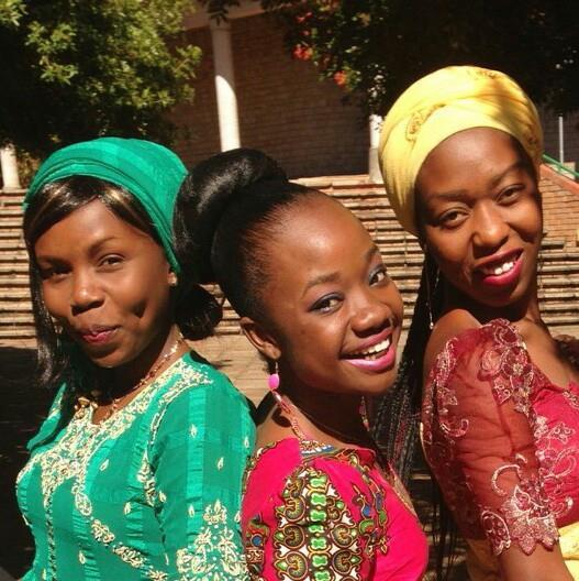 Three female graduates for 2015
