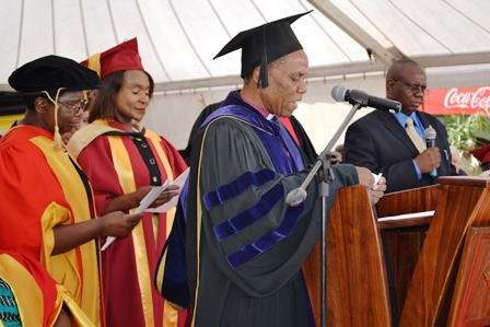 Bishop Eben Nhiwatiwa, Africa University, Zimbabwe Episcopal Area, United Methodist Church, installation, students, higher education,