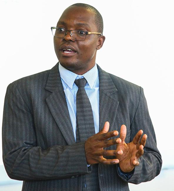 Dr. Elton Mugomeri of AU's health sciences dept. leads a cross-disciplinary team.