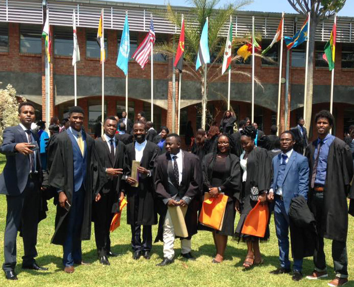 More than 400 new students matriculated at Africa University this year.