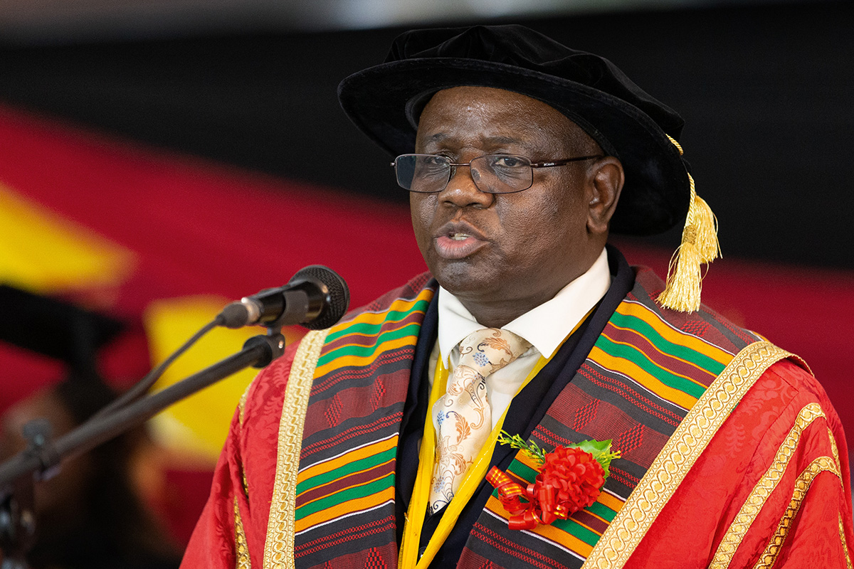 AU's fourth vice chancellor, Munashe Furusa, died suddently on January 13, 2021.