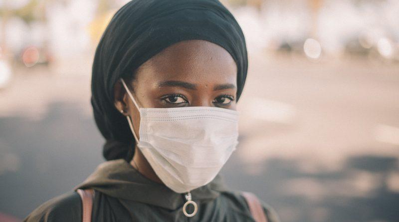 Females student, masked.