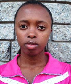 Adeline Ituze, Usahwira scholarship beneficiary