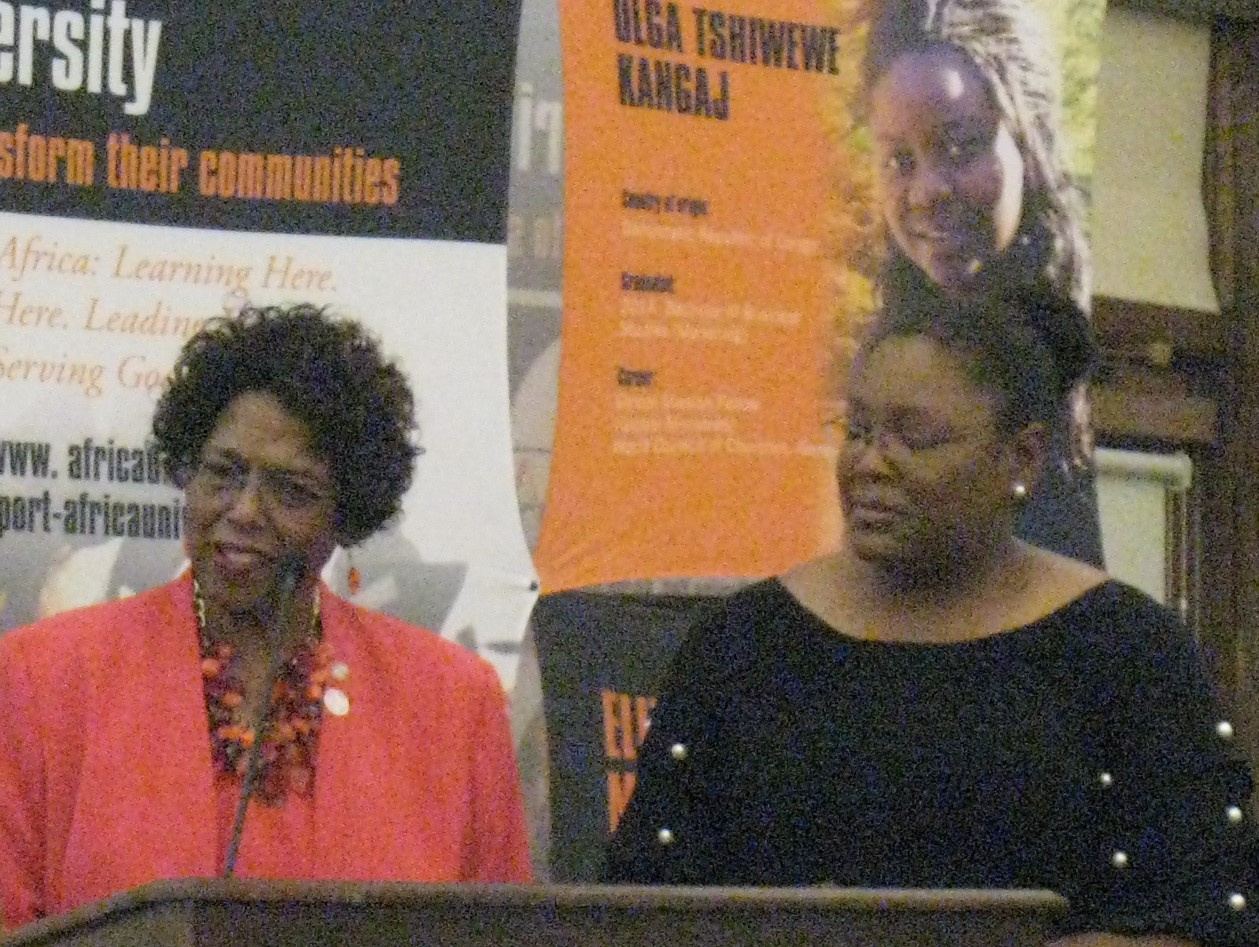 Pastor Carleathea Benson, chair of the ELCC Committee of the South Carolina Conference.